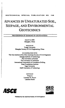 Advances in Unsaturated Soil  Seepage  and Environmental Geotechnics PDF