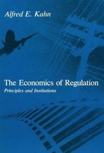 The Economics of Regulation Book