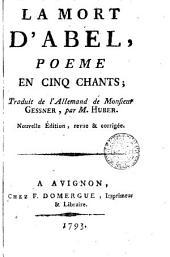 La mort d'Abel: poeme en cinq chants