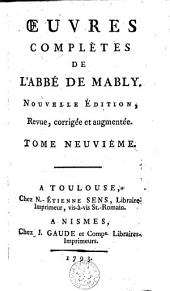 Oeuvres complètes: Volume 9