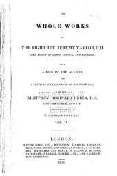 The Whole Works of Jeremy Taylor: The rule and exercises of holy living and dying