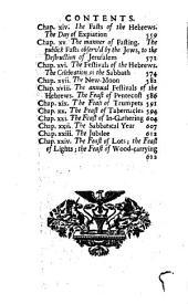 Origines Hebrææ: the antiquities of the Hebrew republick: Volume 2