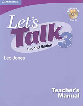 Let s Talk Level 3 Teacher s Manual with Audio CD PDF