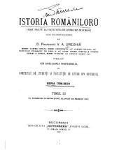 Istoria Romaniloru: Seria 1786-1800