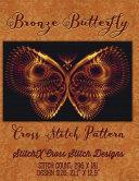 Bronze Butterfly Cross Stitch Pattern