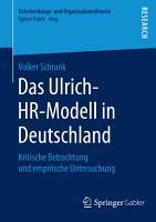 Das Ulrich HR Modell in Deutschland PDF
