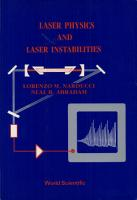 Laser Physics and Laser Instabilities PDF