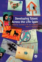 Developing Talent Across the Lifespan PDF
