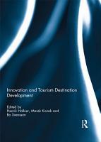 Innovation and Tourism Destination Development PDF