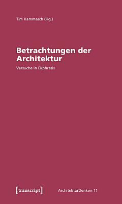 Betrachtungen der Architektur PDF
