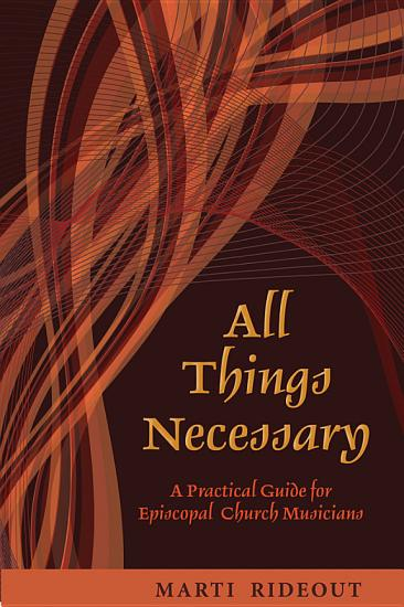 All Things Necessary PDF