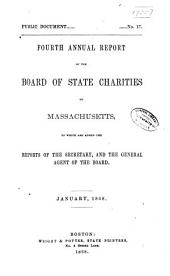 Annual Report of the Board of State Charities of Massachusetts: Volume 4
