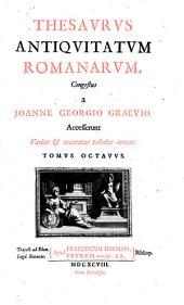 Thesaurus antiquitatum romanarum: Tomus octavus