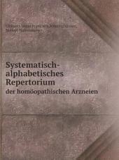Systematisch-alphabetisches Repertorium