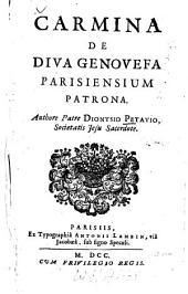 Carmina de diva Genovefa, Parisiensium patrona