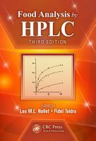 Food Analysis by HPLC PDF