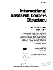 International Research Centers Directory
