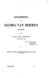 Geschiedenis van Jacoba van Beieren (1401-1436)