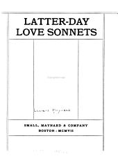 Latter-day Love Sonnets
