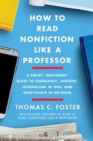 How to Read Nonfiction Like a Professor PDF