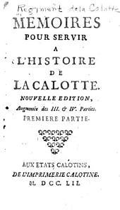 Mémoires pour servir à l'histoire de la Calotte