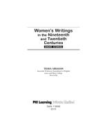 WOMEN   S WRITINGS IN THE NINETEENTH AND TWENTIETH CENTURIES PDF