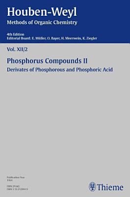 Houben Weyl Methods of Organic Chemistry Vol  XII 2  4th Edition PDF