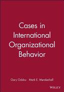 Cases in International Organizational Behavior PDF