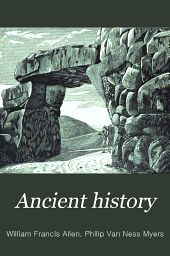 Ancient History for Colleges and High Schools: A short history of the Roman people, by William F. Allen, Part 2