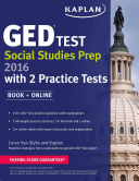 Kaplan GED   Test Social Studies Prep 2016 Book