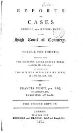 Reports of Cases ... in the High Court of Chancery ... [1789-1817]: Volume 4