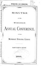 Minutes of the Wisconsin Annual Conference of the Methodist Episcopal Church      Session   PDF