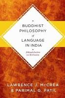 Buddhist Philosophy of Language in India PDF