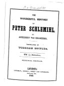 The Wonderful History of Peter Schlemihl