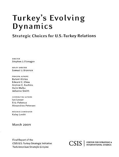 Turkey s Evolving Dynamics PDF