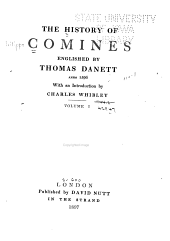 The History of Comines: Volume 17