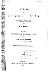 Anhang zu Homers Ilias: Ausgabe 3