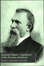 Sessional Papers - Legislature of the Province of Ontario: Volume 4