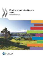 Environment at a Glance 2015 OECD Indicators PDF