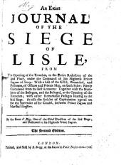 An exact Journal of the Siege of Lisle ... second edition