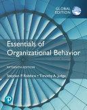 Essentials of Organizational Behaviour  Global Edition PDF
