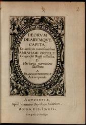 Francisci Sweertii Deorum dearumque capita
