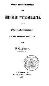 Over het verband der physische wetenschappen: Volume 1