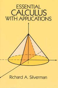 Essential Calculus with Applications Book