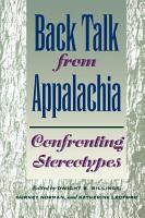 Back Talk from Appalachia PDF