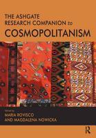 The Ashgate Research Companion to Cosmopolitanism PDF