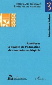 Améliorer la qualité de l'éducation des nomades au Nigéria