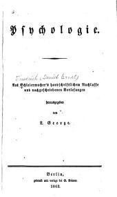 Sammtliche werke: 1e abth. Ier-VIIer, XIer-XIIIer bd; 2e, 3e abth, Band 3;Band 6
