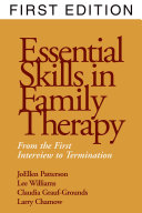 Essential Skills in Family Therapy Book