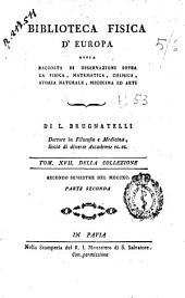 Biblioteca Fisica d'Europa: Volume 17